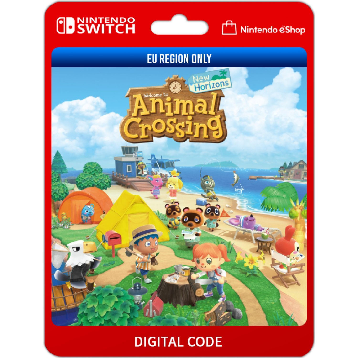 Animal Crossing New Horizons Nintendo Switch Digital Digital