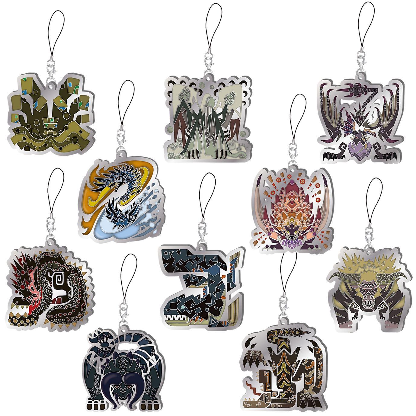Monster Hunter World Iceborne Monster Icon Stained Glass Type