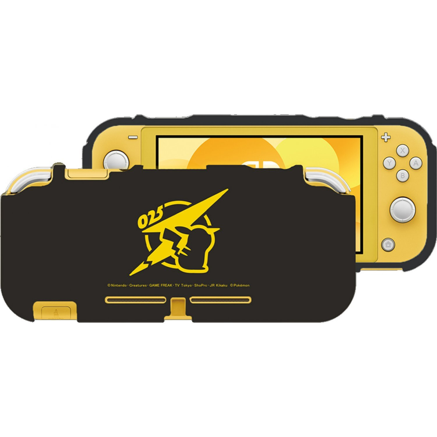 Tpu Semi Hard Cover For Nintendo Switch Lite Pikachu Cool