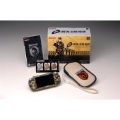 4f48325c939 Box contents. Metal Gear Solid Portable Ops PSP Console Camouflage (PSP-1000CA)  Original PSP Case Strap
