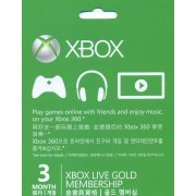 Xbox Live 3 Months Subscription (Asia)