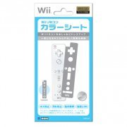 Wii Remote Controller Sheet (gray) (Japan)