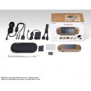 PSP PlayStation Portable Slim & Lite - Mat Bronze Value Pack (PSPJ-20002) (Japan)