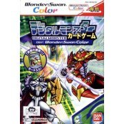Digital Monster Card Game Ver. WonderSwan Color [First-Print Edition w/ Collector's Card] (Japan)