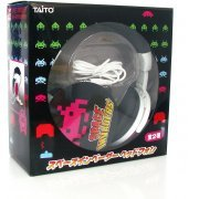 Space Invaders 30th Anniversary Headphone Set (Pink) (Japan)