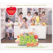 Super Junior - Happy 1st Mini Album - Cooking? Cooking! (Hong Kong)