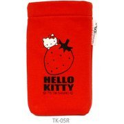 Hello Kitty Pocket Pouch (Red) (Japan)