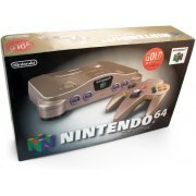 Nintendo 64 Console - gold  preowned (Japan)