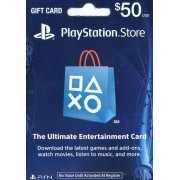 PlayStation Network Card (US$ 50 / for US network only) (US)