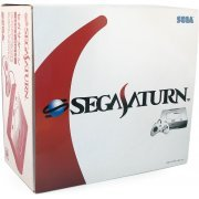 Sega Saturn Console - HST-0014 white [Special Edition] preowned (Japan)