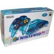 Nintendo 64 Console - clear blue  preowned (Japan)