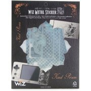 GP2x Wiz Metal Sticker (Silver) (Korea)