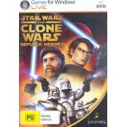 Star Wars the Clone Wars: Republic Heroes (DVD-ROM) (Asia)