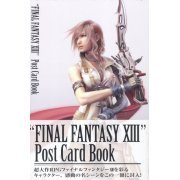 FINAL FANTASY XIII Post Card Book (Japan)