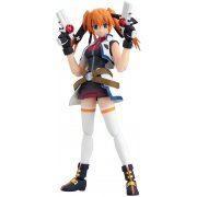 Magical Girl Lyrical Nanoha Striker S Non Scale Pre-Painted PVC Figure: figma Teana Lanster (Barrier Jacket Version) (Japan)