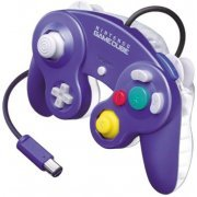 Game Cube Controller (Purple Clear) (Japan)