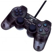 Dual Shock 2 Controller (Slate Gray) (Asia)