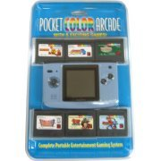 NeoGeo Pocket Color Bundle (incl. 6 games) - Platinum Blue (US)