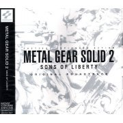 Metal Gear Solid 2 Sons of Liberty Original Soundtrack (Japan)