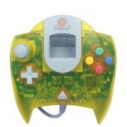 Dreamcast Control Pad (clear yellow) (US)