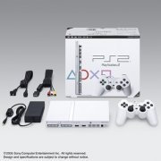 PlayStation2 Console Ceramic White (SCPH-75000CW) (Japan)