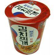 Nong Shim Cup Noodles - Kimchi Flavor