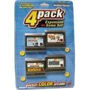 NeoGeo Pocket 4 Pack Expansion Game Set - Pack A (US)