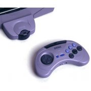 Saturn Cordless Joypad - grey (w/o receiver) (Japan)