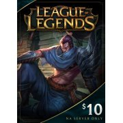 League of Legends Gift Card USD 10 digital (US)