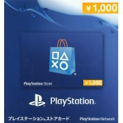 Playstation Network Card 1000 YEN | Japan Account (Japan)