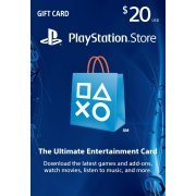 Playstation Network Card 20 USD | USA Account (US)