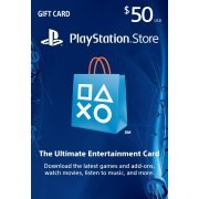 Playstation Network Card 50 USD | USA Account (US)