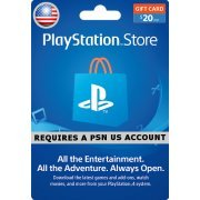 PSN Card 20 USD | Playstation Network US (US)