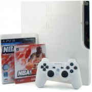 PlayStation3 Slim Console - NBA 2k11 Value Pack (HDD 320GB Classic White Model) - 220V (Asia)