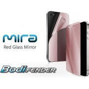 Capdase Mira BodiFender (Red Glass Mirror) iPhone 4