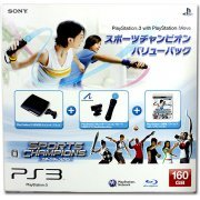 PlayStation3 Slim Console - Sports Champions Value Pack (HDD 160GB Model) - 110V (Japan)