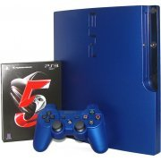 PlayStation3 Slim Console - Gran Turismo 5 Racing Pack (HDD 160GB Model) -220V (Asia)