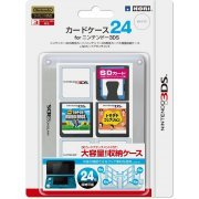 3DS Card Case 24 (Clear) (Japan)