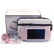 PSP PlayStation Portable Slim & Lite - Blossom Pink Value Pack for Girls (PSPJ-30019) (Japan)