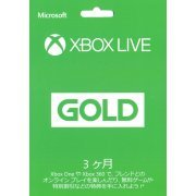 Xbox Live 3-Month Gold Card (Japan)