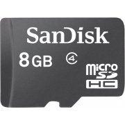 SanDisk microSDHC 8GB, Class 4