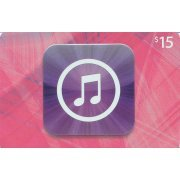 iTunes Card (US$ 15 / for US accounts only) (US)