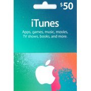 iTunes Card (US$ 50 / for US accounts only) (US)