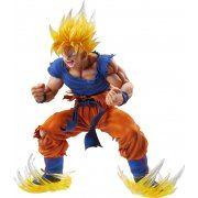 Super Figure Art Collection Dragon Ball Kai: Super Saiyajn Son Gokou Ver.2 Clear Hair (Re-run) (Japan)