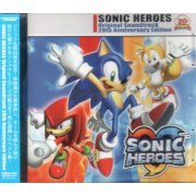 Sonic Heroes Original Soundtrack 20th Anniversary Edition (Japan)