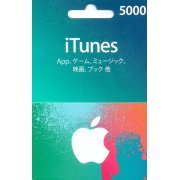 iTunes Card (5000 Yen / for Japan accounts only) (Japan)