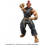 Super Street Fighter IV Arcade Edition Play Arts Kai Series 2 Non Scale Pre-Painted PVC Figure: Akuma