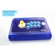 Qanba Q4 Real Arcade Fightingstick (3in1) (Ice Blue Limited Edition) (Asia)