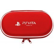 Hard Pouch for PlayStation Vita (Red) (Japan)