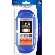 TPU Protector Cover for PlayStation Vita (Blue) (Japan)